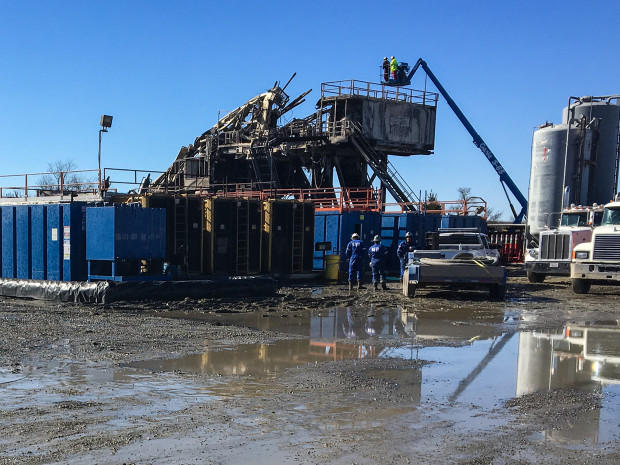 Authorities Investigating Oklahoma Rig Explosion, Deadliest U.S. Drilling Accident In Years Image