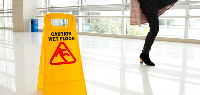 How to Keep My Business Safe from a Slip and Fall Lawsuit Image